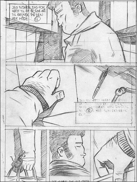 Glasmanden side 29 blyant